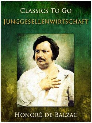 cover image of Junggesellenwirtschaft