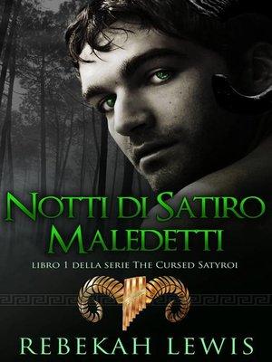 cover image of Notti di Satiri Maledetti