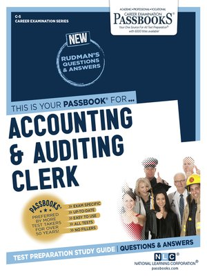 cover image of Accounting & Auditing Clerk