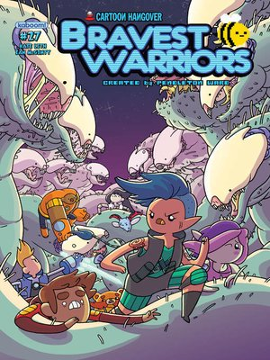 cover image of Bravest Warriors #27