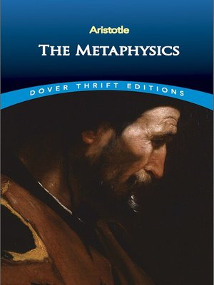 cover image of The Metaphysics