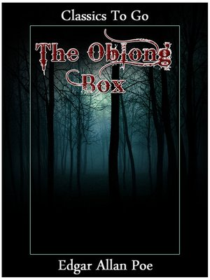 cover image of The Oblong Box