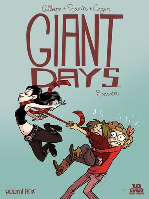 cover image of Giant Days (2015), Issue 7