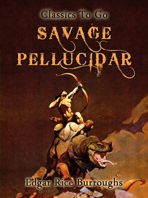cover image of Savage Pellucidar
