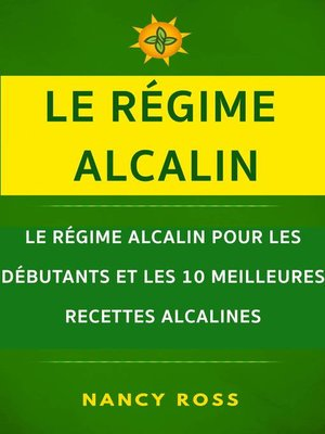 cover image of Le régime alcalin