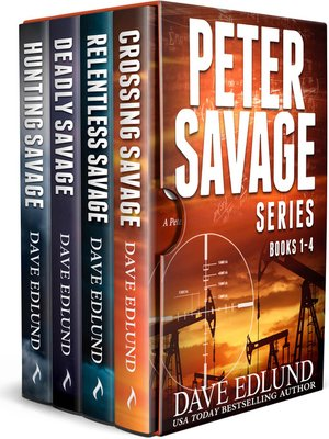 cover image of The Peter Savage Novels Boxed Set