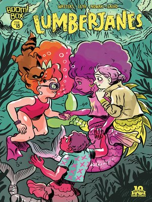 cover image of Lumberjanes #18