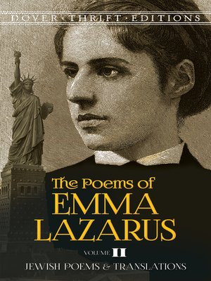 cover image of The Poems of Emma Lazarus, Volume II