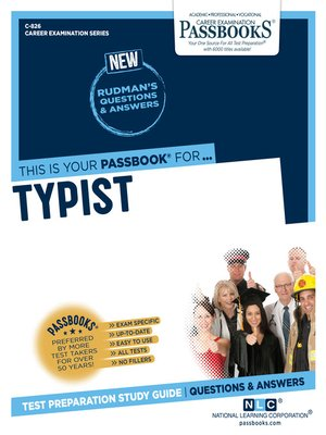 cover image of Typist