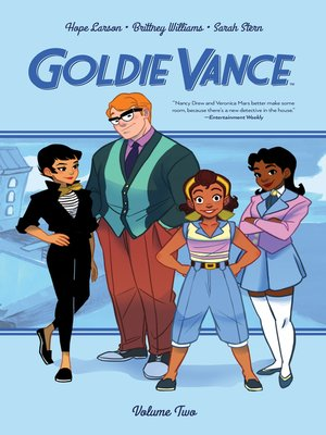cover image of Goldie Vance, Volume 2