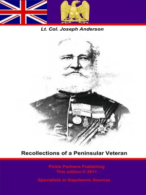 cover image of Recollections of a Peninsular Veteran