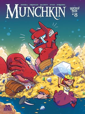 cover image of Munchkin (2015), Issue 8