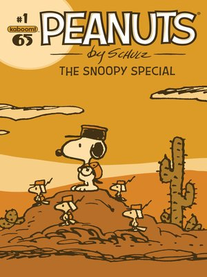 cover image of Peanuts: The Snoopy Special