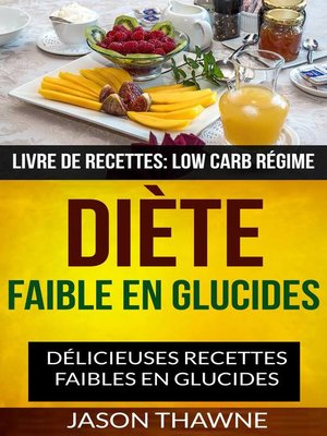 cover image of Diète faible en glucides