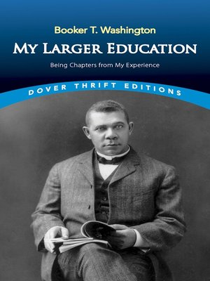 cover image of My Larger Education