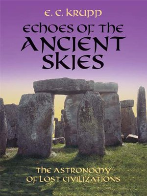 cover image of Echoes of the Ancient Skies