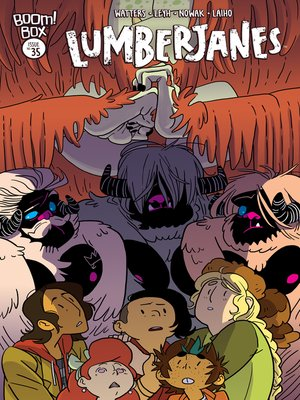 cover image of Lumberjanes, Issue 35