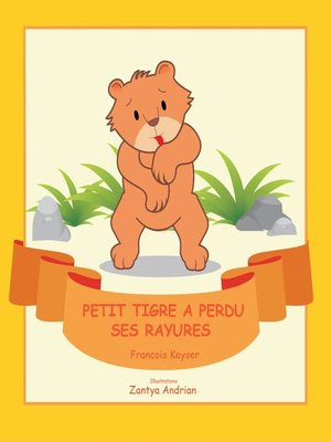 cover image of Petit tigre a perdu ses rayures