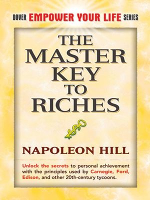 cover image of The Master Key to Riches