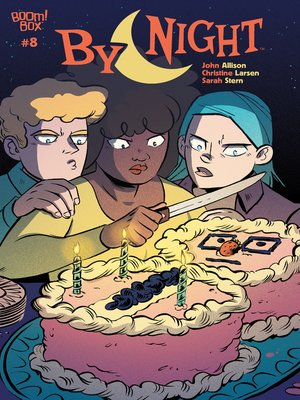 cover image of By Night (2018), Issue 8