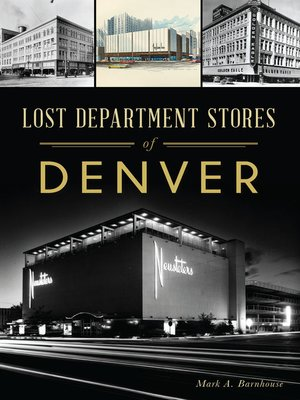 cover image of Lost Department Stores of Denver