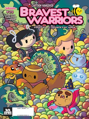 cover image of Bravest Warriors #29
