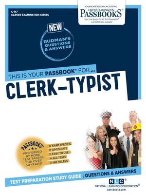 cover image of Clerk-Typist