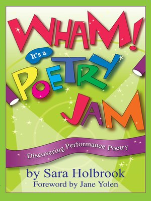 cover image of Wham! It's a Poetry Jam