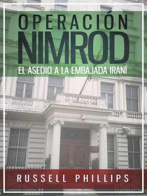 cover image of Operación Nimrod