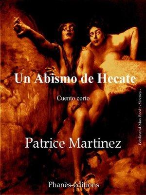 cover image of Un abismo de Hecate