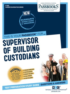 cover image of Supervisor of Building Custodians