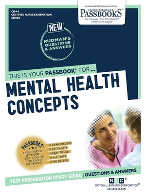 cover image of MENTAL HEALTH CONCEPTS