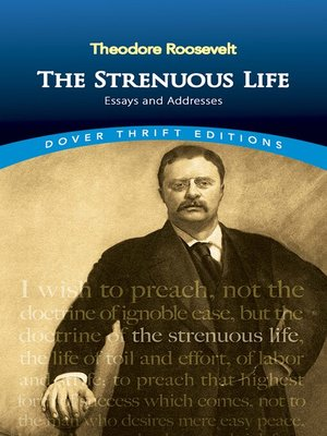 cover image of The Strenuous Life
