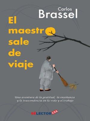 cover image of El maestro sale de viaje