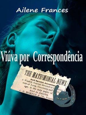 cover image of Viúva por correspondência
