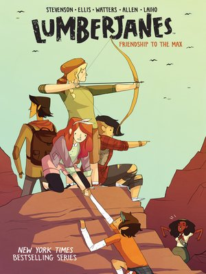 cover image of Lumberjanes Volume 2
