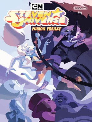 cover image of Steven Universe: Fusion Frenzy, Issue 1