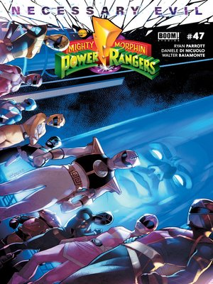 cover image of Mighty Morphin Power Rangers #47