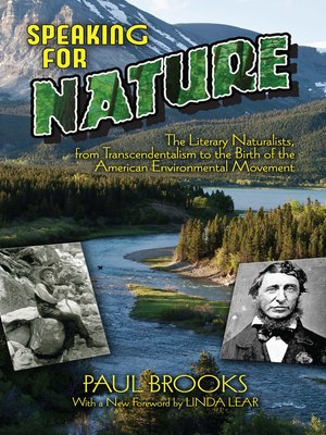 cover image of Speaking for Nature