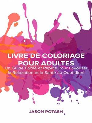 cover image of Livre de coloriage pour adultes