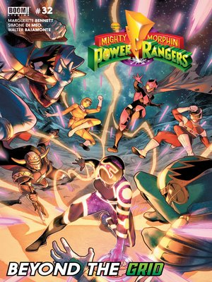 cover image of Mighty Morphin Power Rangers, Issue 32