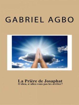 cover image of La prière de Josaphat
