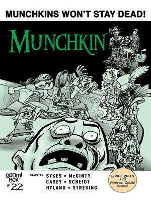 cover image of Munchkin (2015), Issue 22