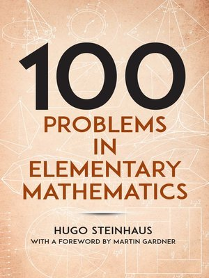 cover image of One Hundred Problems in Elementary Mathematics