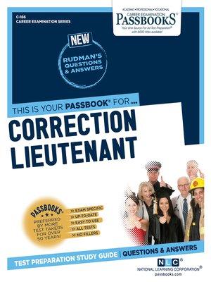 cover image of Correction Lieutenant