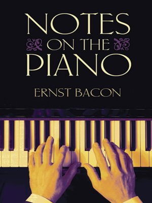 cover image of Notes on the Piano