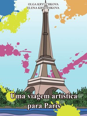cover image of Uma viagem artística para Paris