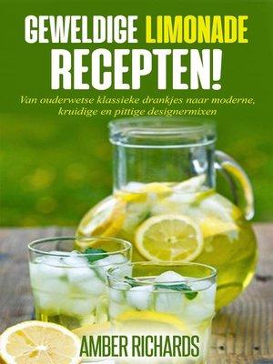 cover image of Geweldige Limonade Recepten