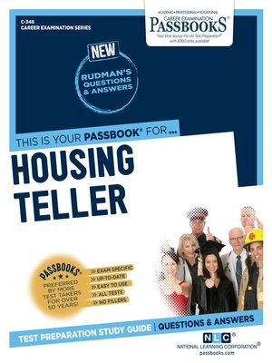 cover image of Housing Teller