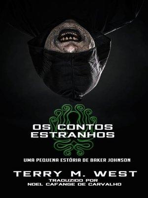 cover image of Os contos estranhos